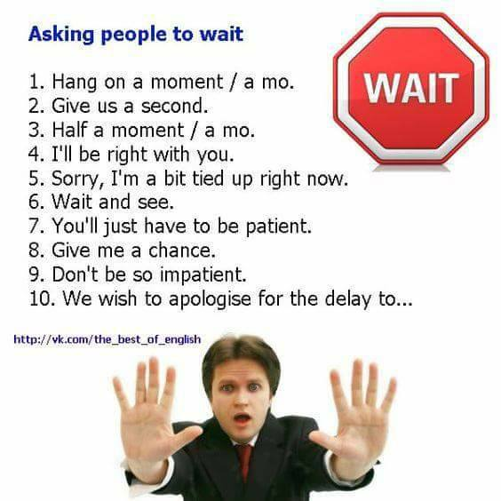 asking-people-to-wait