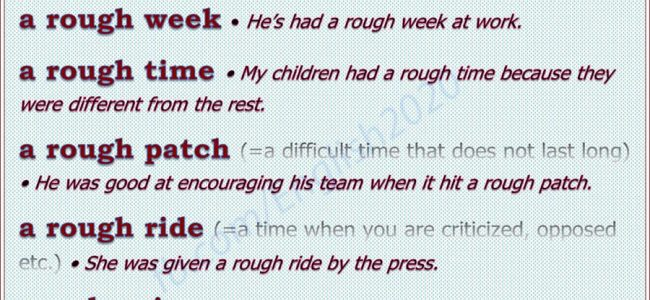 collocations-with-rough