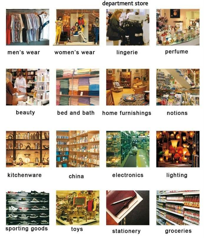 department-store-english-vocabulary