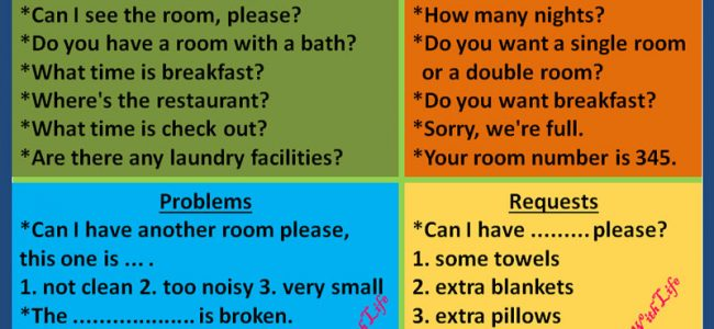 phrases-use-at-a-hotel