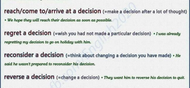 collocations-with-decision